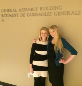 Yvonne at the United Nations General Assembly 2014