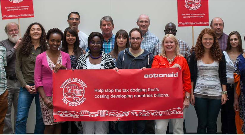 Action Aid Towns Against Tax