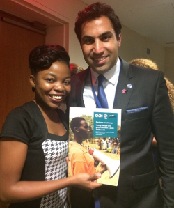 Lombe and UN Envoy on youth