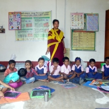 Jharana Das is a 30year old woman working as a teacher in a community school in Odisha. She dreams of seeing a world of independent women and a sexual harassment free society by 2030.