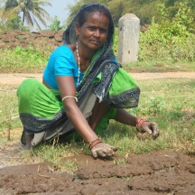 Pratima Das, is a 38 year old woman from Jagatsinghpur, Odisha, India. She works as a housewife and takes care of her house and her farms. Pratima is seen preparing fuel for her kitchen with cow dung. Her dream for 2030 is a world free from gender inequality and a 50% representation of women in all fields of life.