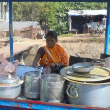 Pravati Nayak runs a tiffin stall, with home cooked food being sold as an option of balanced and healthy meals to other people, in a village in Odisha, Pravati and 34 years old and dreams of 2030 where girls are educated, are encouraged to take leadership roles and are determined to be an agent of change in the society as well.
