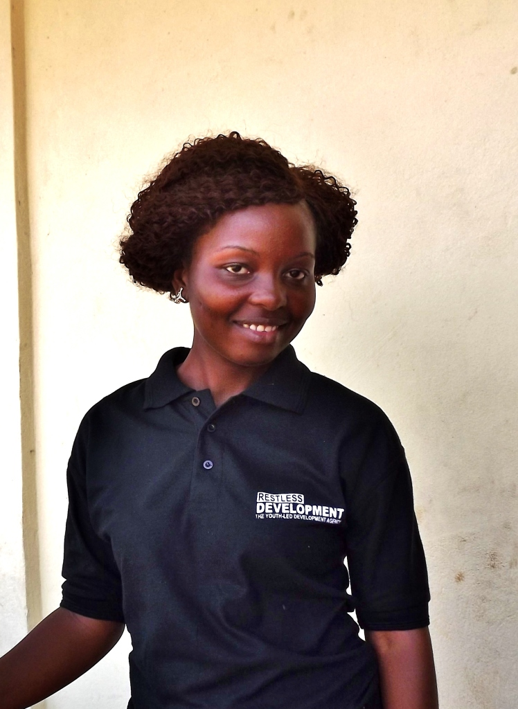 "Favour Abibatu Kamara, who joined Restless Development as a community facilitator for our Pull Slum Pan Pipul programme 3 years ago: ""You educate the girl, you educate the nation""."